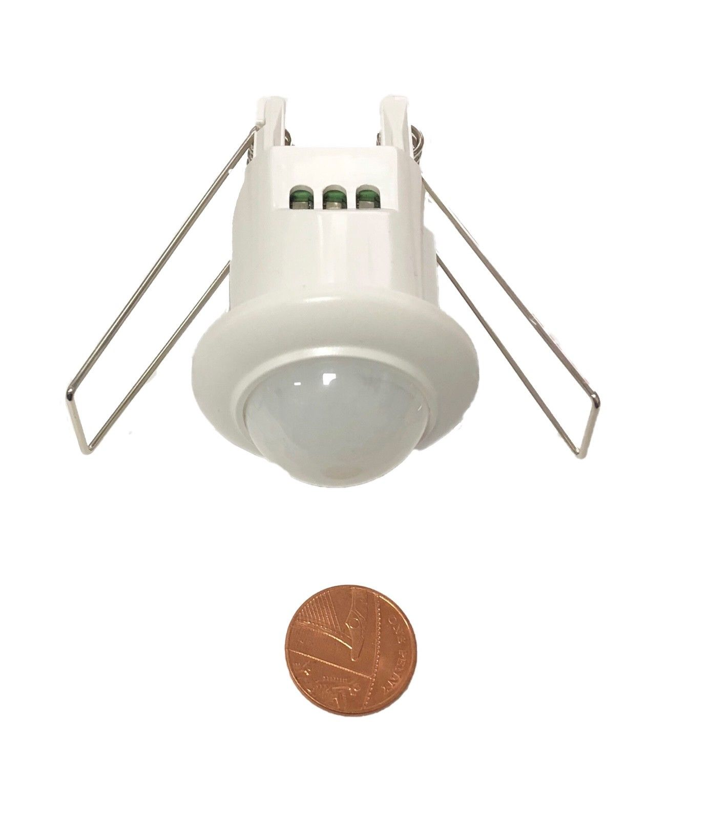 Mini Motion Sensor Detector Ceiling Light Switch Recessed 360