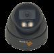 Techvision 2MP 1080P ColourView Light Grey Small Dome CCTV Camera