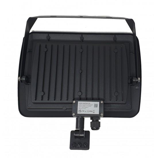 100W Led Slim Powerful Security Floodlight IP65 Outdoor Garden Light Daylight 6500K