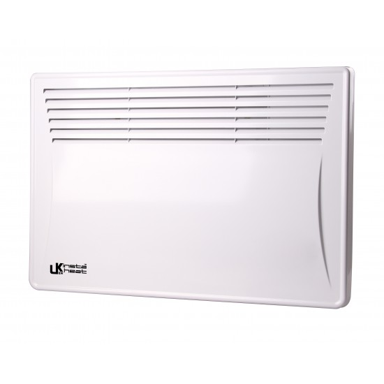 UKEW Insta Heat 1.5KW Panel Convector Heating With Digital Timer Lot 20 Compliant