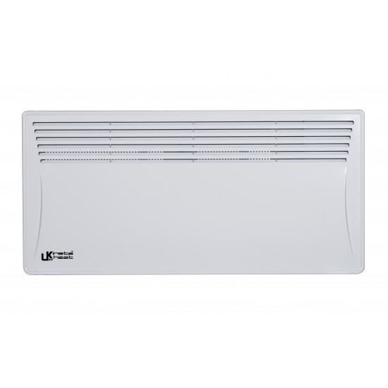 UKEW Insta Heat 2KW Panel Convector Heating With Digital Timer Lot 20 Compliant