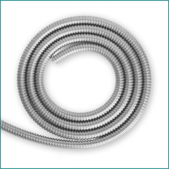 Galvanised Steel 20mm Flexible Conduit 10M Length