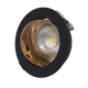 Ceiling reflector recessed fix downlight Rose Gold Black or White Black Chrome