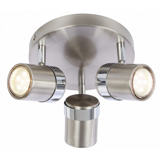 Modern Interior round 3 ways GU10 retro Spotlights Fitting