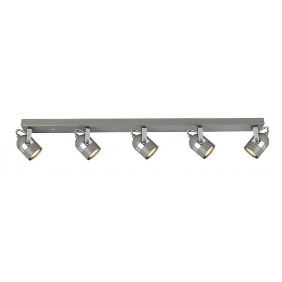 5 Way Ceiling Bar Fitting Spot Light LED GU10