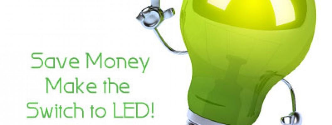 Save money, Use LED