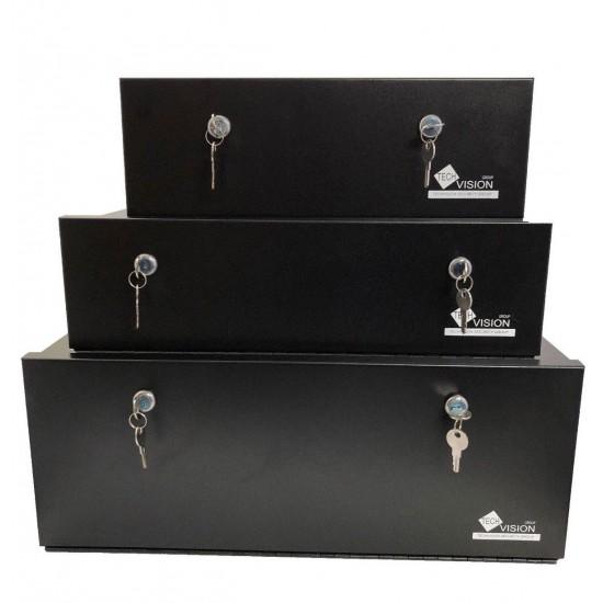 Heavy Duty lockable DVR Recorder LOCK BOX, CCTV DVR Safe Box,S/M/L high QUALITY