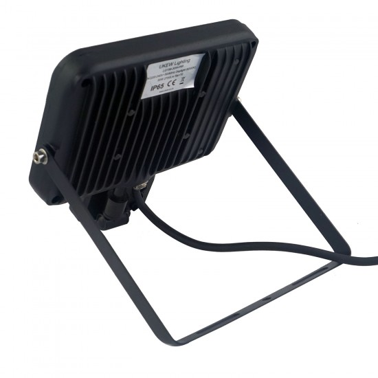 30W High power led floodlight with PIR Black Finish IP65