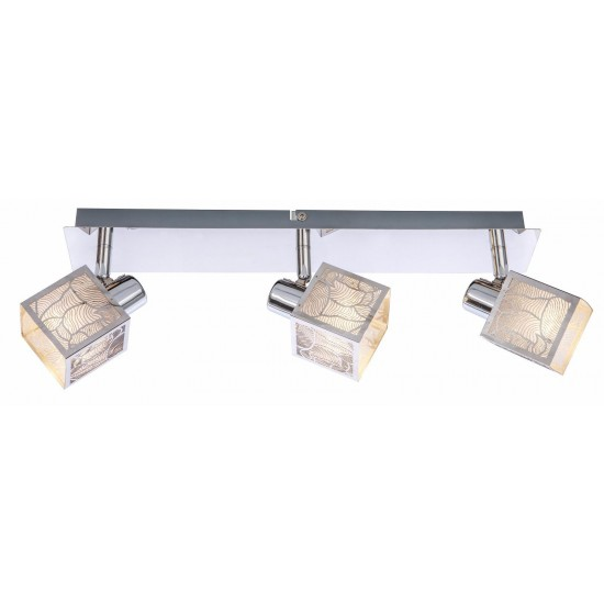 Enthral Series 1 2 3 4 Way Ceiling Spotlight Light Fitting in Chrome Finish