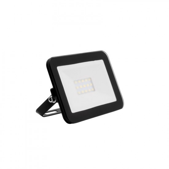10W LED Slim Glass Floodlight IP65 - Daylight 6500K