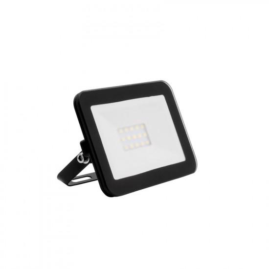 10W LED Slim Glass Floodlight IP65 - Daylight 6500K