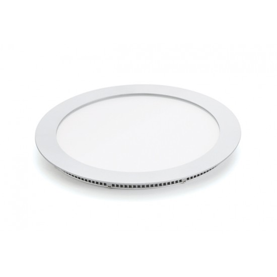18W LED Round Panel light White Recessed Ceiling Light Available in three Colours