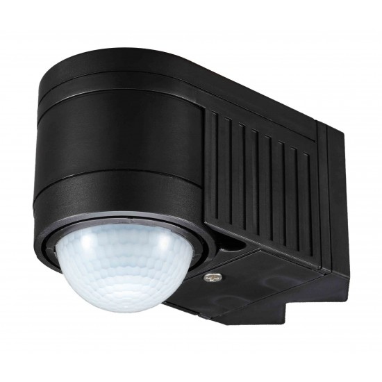 IP44 Outdoor 360° PIR or Photocell Motion Sensor Black UKEW®