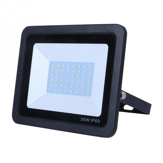 50W Led Outdoor Floodlight Thin Version Cool White 6000K IP65