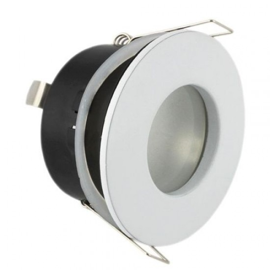 Bathroom Round Downlight IP44 Waterproof Rated Spotlight GU10 White