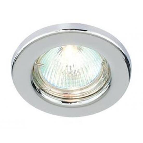 Fixed GU10 Ceiling Spotlight Downlight Polished Chrome Finish UKEW®