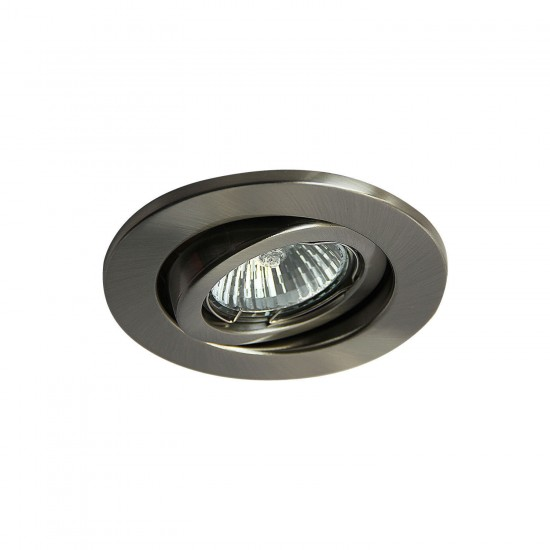 Tiltable GU10 Ceiling Spotlight Downlight Satin Finish UKEW®