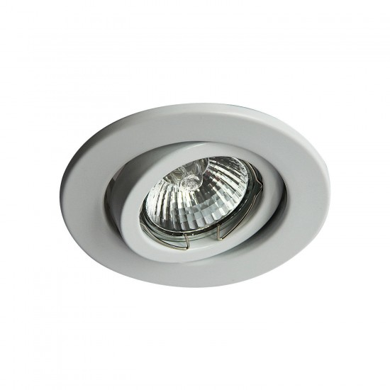 Tiltable GU10 Ceiling Spotlight Downlight White Finish UKEW®