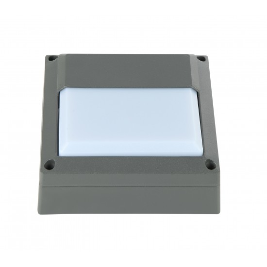 UKEW Outdoor Mini Bulkhead Square Eyelid Design IP65 Waterproof