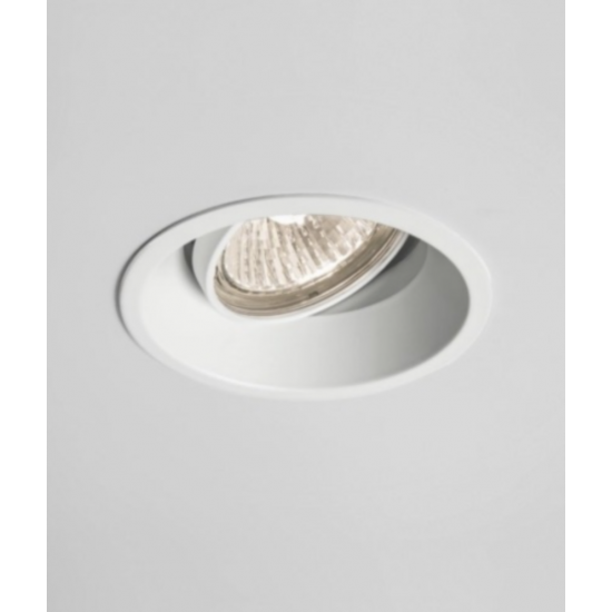 Round GU10 Anti Glare Ceiling Downlight Spotlight Tilt Adjustable