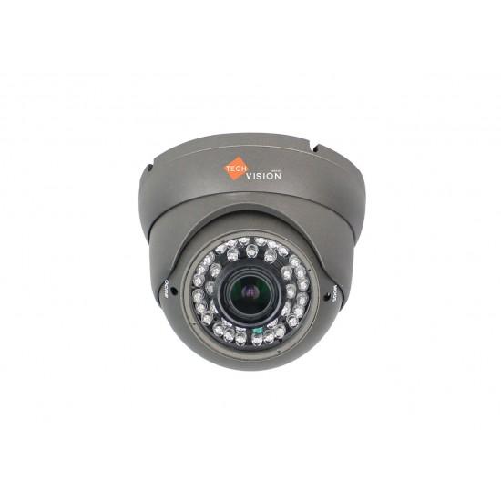 Techvision 720p AHD Varifocal dome camera grey 30m night vision