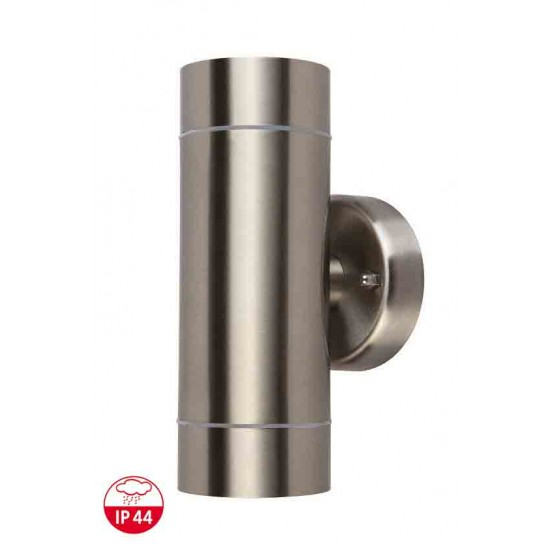 New Wall Mounted Up and Down Outside or Indoor Light Stainless Steel IP44 UKEW®