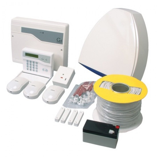 Complete Home Intruder Alarm - Proximity Pet Tolerant Kit - ADE Honeywell - G4