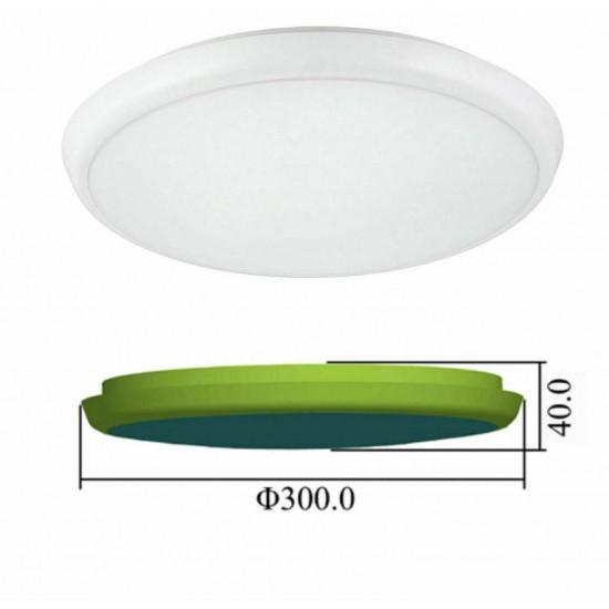 Slim 22W LED Low Ceiling light Slim LED Ceiling or Wall IP65 Bulkhead Light