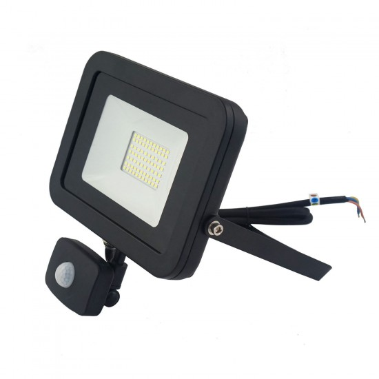 50W Led Slim Powerful Security Floodlight IP65 Outdoor Garden Light Daylight 6500K