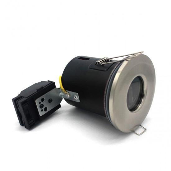 IP65 Fire Rated GU10 Downlight Spotlight - Satin