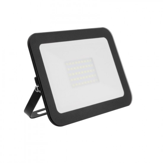 30W LED Slim Glass Floodlight IP65 - Daylight 6500K